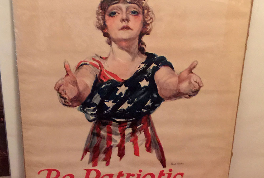 """Be Patriotic"" WWI Food Bank Poster"
