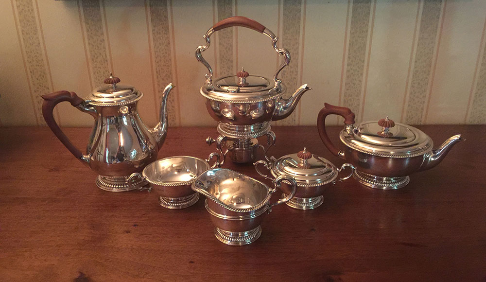 Charles Carroll Family (Maryland) Tea Service