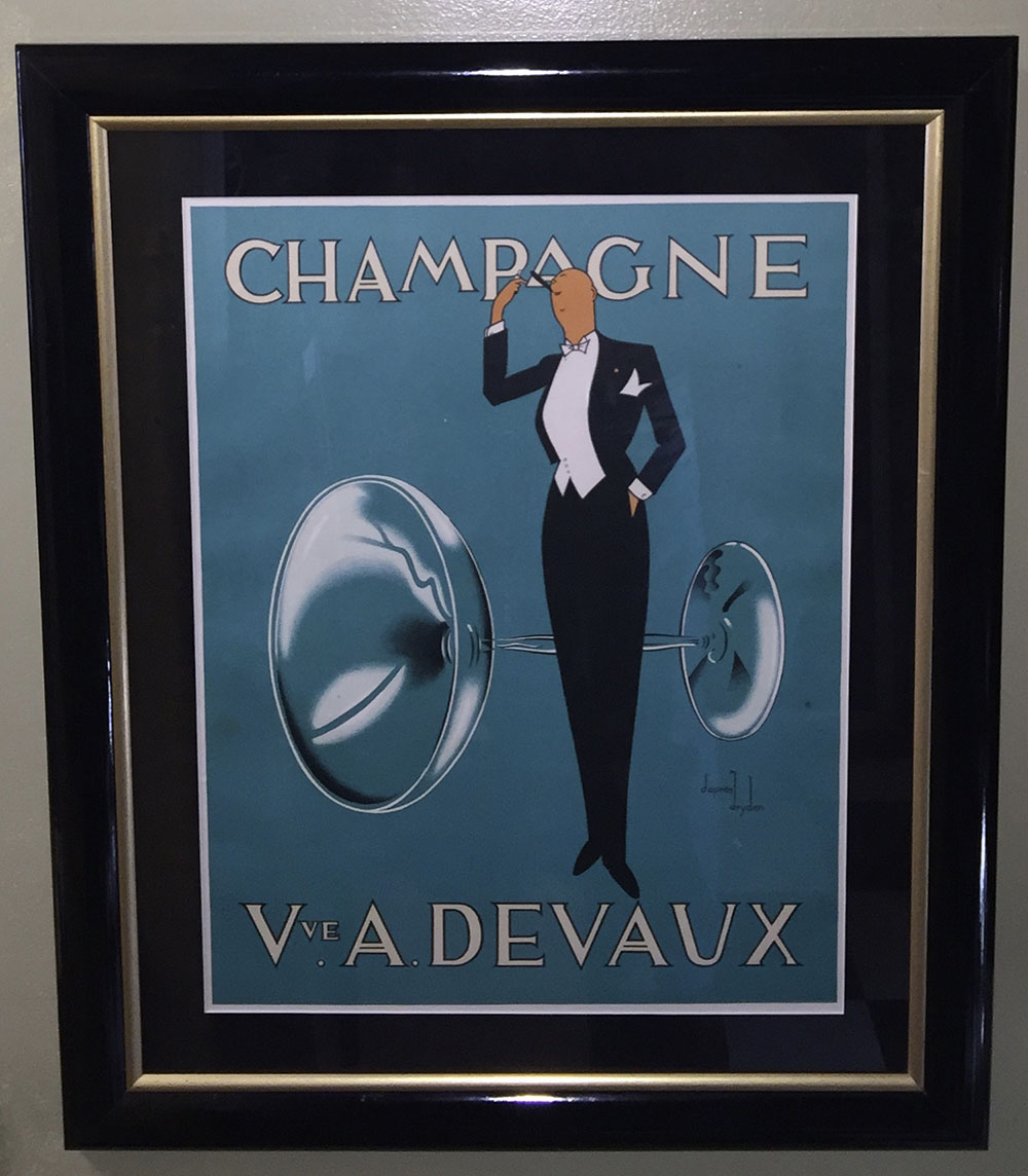Champange Devaux  French 1940s