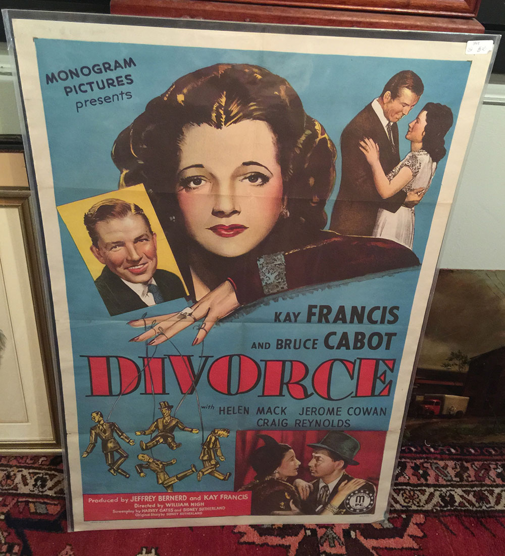 """Divorce"" 1945 Movie Poster"