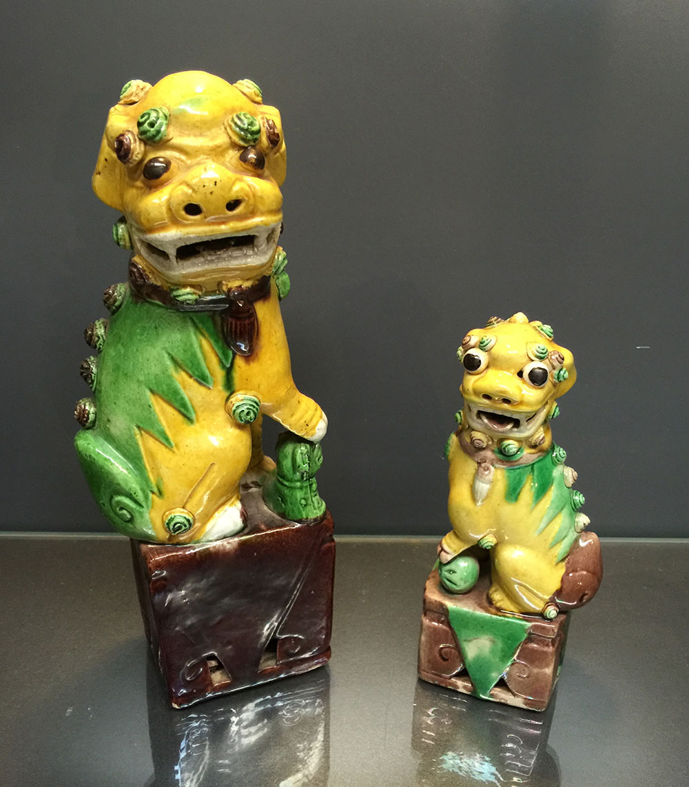 Chinese Foo Dogs C.1900