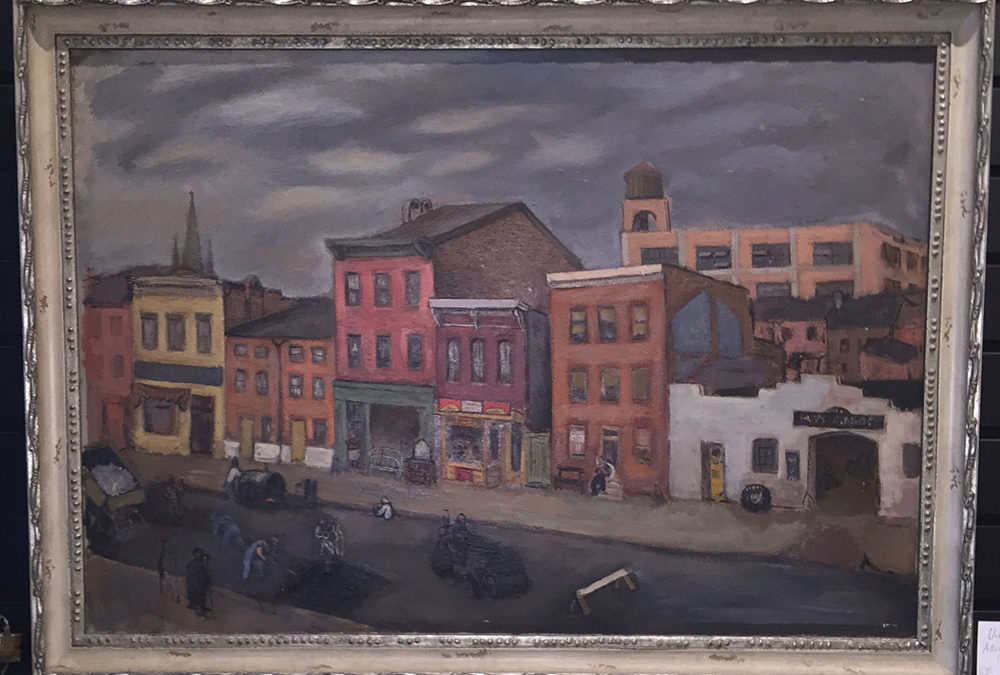 "Jacob Glushakow ""Baltimore Street"" C.1950"