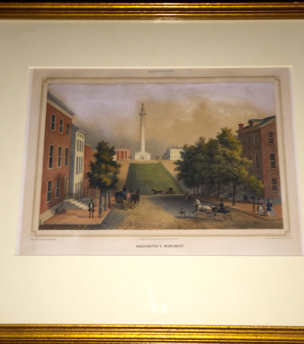 """Washington Monument"" Aug. Kollner C.1848"