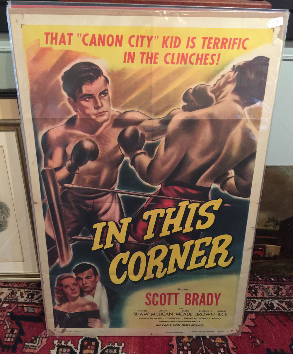 """In This Corner"" 1948 Movie Poster"