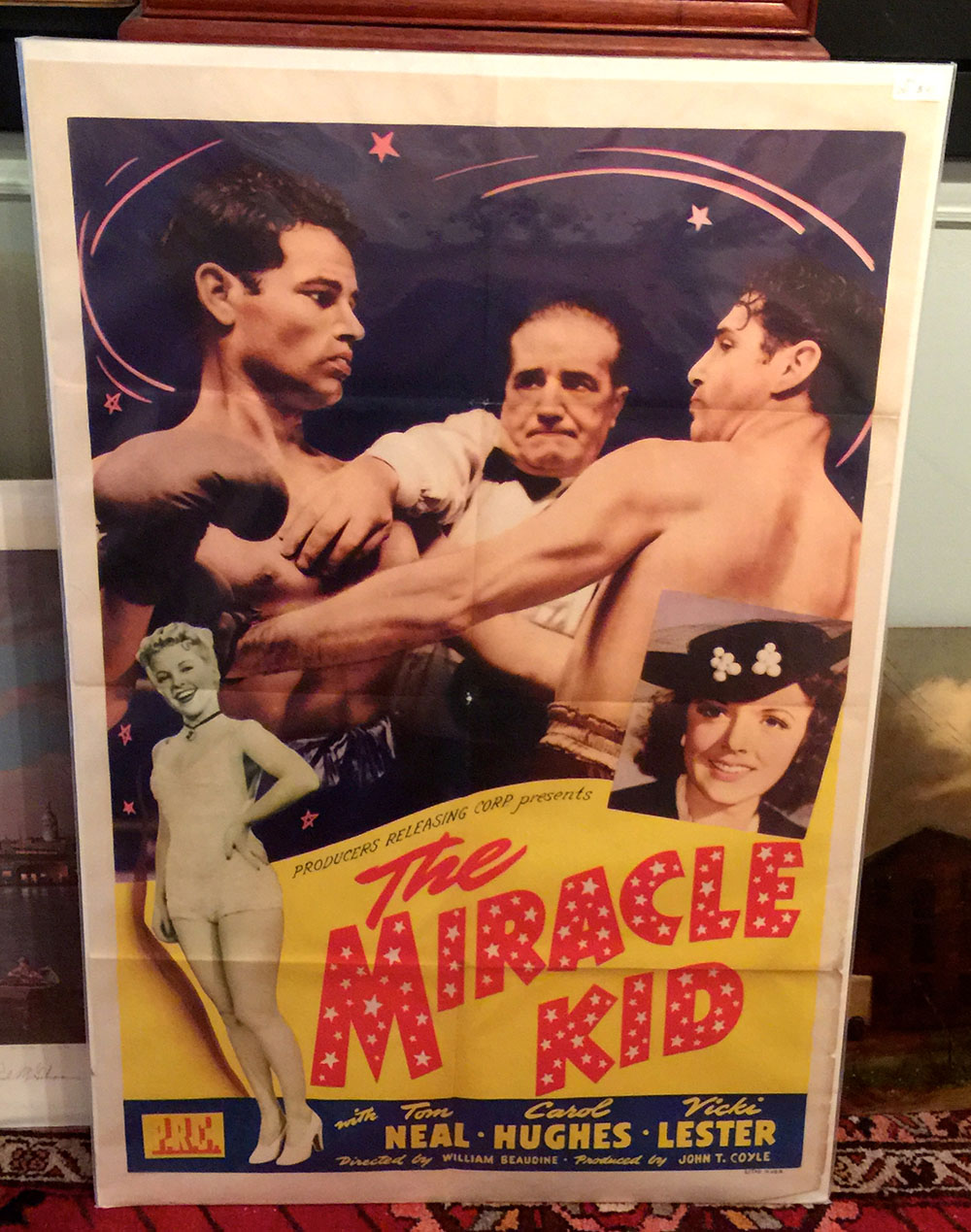 """The Miracle Kid"" Original 1941 Movie Poster"