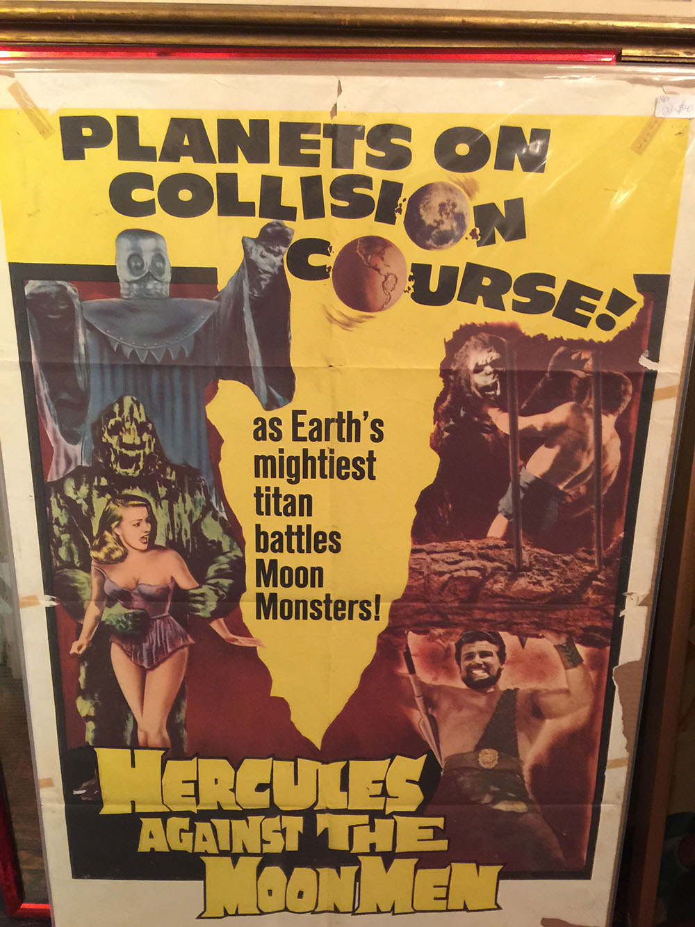 Hercules Againt The Moon Men