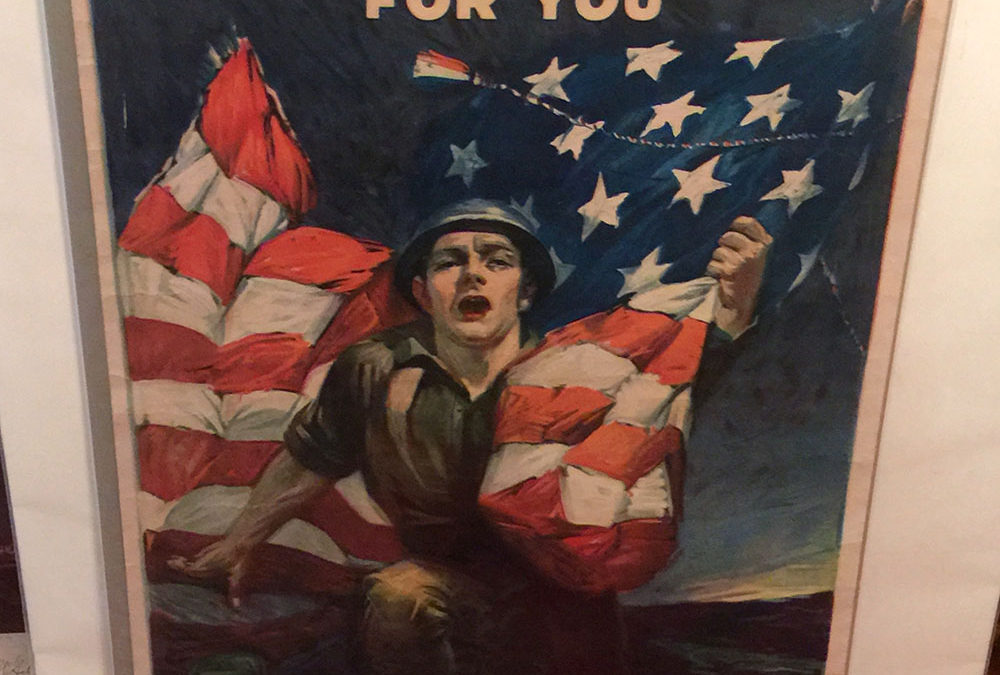 """Over The Top for You"" WWI Poster"