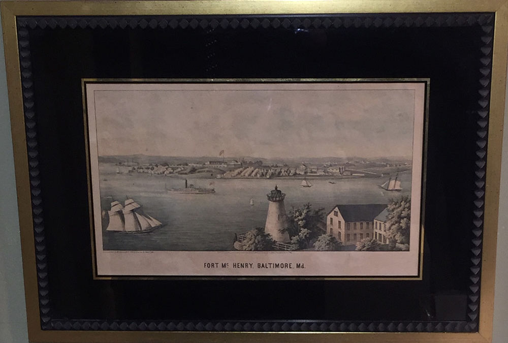 """Fort McHenry, Baltimore"" E. Sachse & Co. 1861"