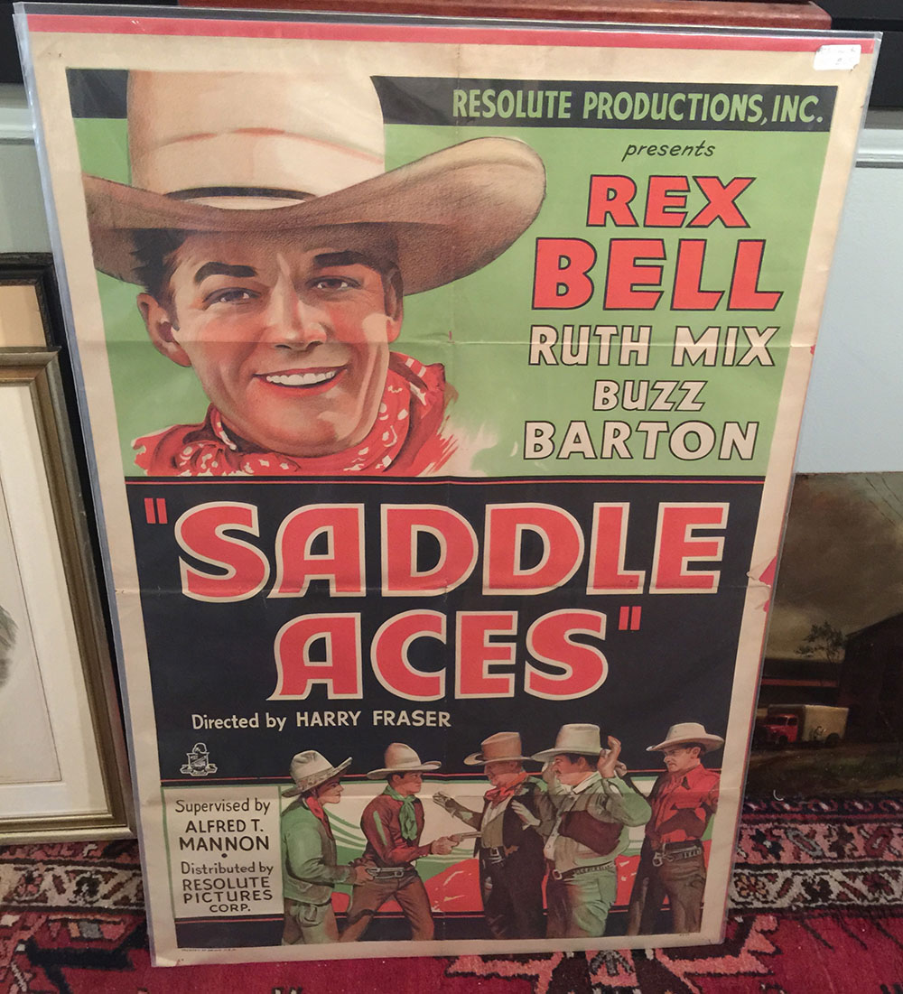 """Saddle Aces"" 1935 Movie Poster"