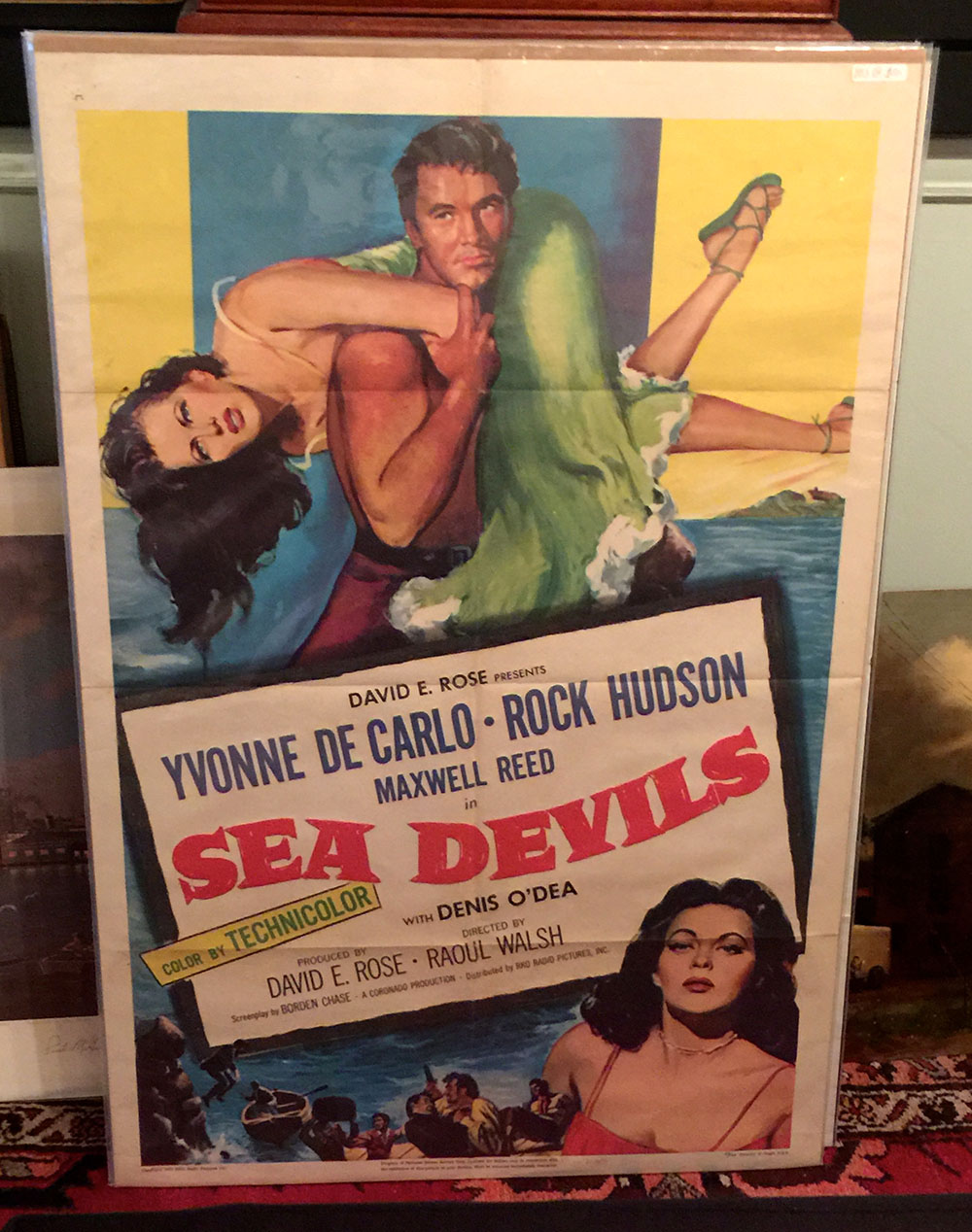 """Sea Devils"" Rock Hudson RKO 1953"